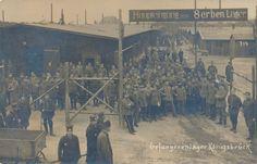Konigsbruck - War Camp for Serbian P.O.W.s. in Germany, near Berlin , during the First World War