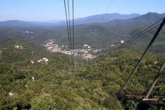 """1. Finish up your tour of Tennessee <a href=""""http://www.onlyinyourstate.com/tennessee/ober-gatlinburg-tram-tn/"""" target=""""_blank"""">high, high above it</a>."""