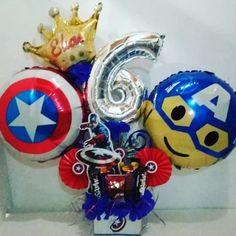 Moana Birthday Party, Birthday Diy, Birthday Balloons, Balloon Bouquet, Balloon Arch, Handmade Decorations, Birthday Decorations, Captain America Birthday, Balloon Arrangements