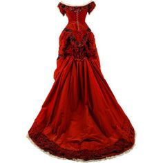 Reminiscent of the gown Scarlett wore to Ashley's birthday.