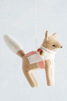 Gift-Bearer Ornament by Oh Albatross $18.00 #fox #christmas