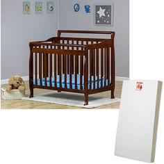 Dream on Me Mini or Portable Crib (Choose Your Style and Finish) with BONUS Mattress Price