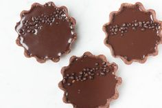 Chocolate And Passion Fruit Popping Candy Tarts