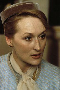 "Meryl Streep in ""Plenty"" Meryl Streep, Barack Obama, Kramer Vs Kramer, Jennifer Lawrence, Jennifer Garner, The Iron Lady, Academy Award Winners, Diane Keaton, Park Shin Hye"
