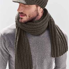 Breipatroon+Sjaal Knitting Scarves, Design Inspiration, Crochet, Projects, Accessories, Fashion, Knitting Needles, Gloves, Scarves