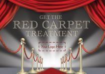 E0712 - Red carpet themed leaflets for estate agents by @estateagentleaflets - Visit our website for more info! #redcarpet #leaflets #estateagentleaflets #estateagents