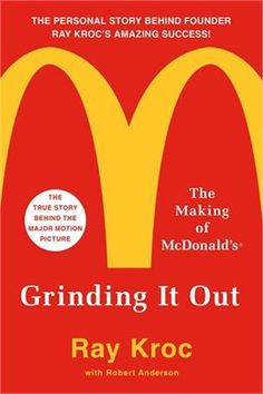 Book Grinding It Out: The Making Of Mcdonald's by Ray Kroc