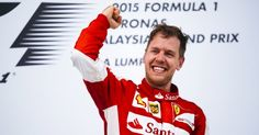 Ferrari Pilot Wins an F-1 Race for the First Time in Two Years. Sebastian Vettel became a winner of the Malaysian Gran Prix. This is the 40th victory in the German's career and the first on team Ferrari, while it is the first victory for the Italian team since the Spanish stage of 2013. #Ferrari #Scuderia #Hamilton #Vettel #Rosberg #Raikkonen #Bottas #F1 #MalaysianGranPrix #Malaysia #news #cars