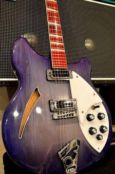 Awesome Rickenbacker Semi-Hollowbody Guitar!