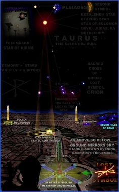 THE SACRED CROSS OF ORION SOL INVICTUS - 25TH DECEMBER -  The new findings on the Masonic Blazing star, the Bethlehem star, the Star of King David and the lost symbol of The Christ will challenge human origins and the very foundation of all religions.