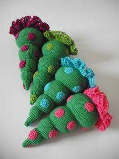vegan&normal - crochetdoll's blog: E ancora alberi crochet!!! (miei con spiegazioni f...