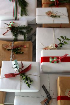 Christmas Gift Wrap - Most Lovely Things