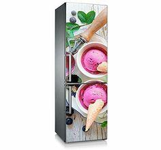 """Mod. """"Bolas heladas"""" Vinilo adhesivo frigorífico, decoración. Decora tu Hogar."""