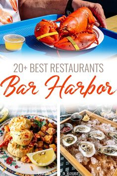 Trying to find the best restaurants in Bar Harbor for your trip? Here you'll find breakfast spots, lobster pounds, seafood restaurants, and more! Maine Road Trip, East Coast Road Trip, Road Trip Usa, Bar Harbor Me, Bar Harbour, Acadia Maine, Maine In The Fall, Lobster Pound, Visit Maine