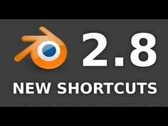 Blender 2.8 shortcuts have changed again! - YouTube