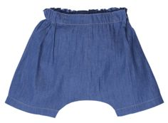 Bonnie Baby London hip baggy unisex denim shorts now £13 with free delivery