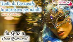 Festa Di Carnevale In Maschera Per Adulti 'Da Grazia'