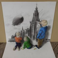 3D Drawing by Ramon Bruin (Netherlands)