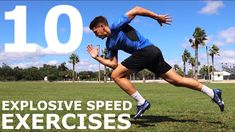 Being explosive off the mark can give you an advantage in many sports, including football, so with these 10 no equipment training exercises, you can get the . Rumpf Training, Soccer Training Drills, Body Weight Training, Training Exercises, Running Drills, Leg Exercises, Running Gear, Football Drills, Basketball Workouts