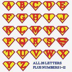 guirnalda de cumpleanos de superheroes para imprimir