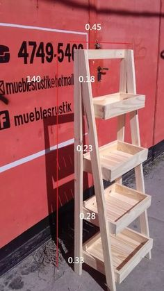 15 Adorable Gardening Furniture Projects with Wood Pallet Furniture, Furniture Projects, Diy Wood Projects, Wood Crafts, Woodworking Projects, Furniture Plans, Home Furniture, Diy Plant Stand, Diy Holz