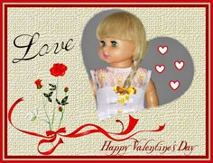 """HAPPY VALENTINE'S DAY   --  SEE THE VIDEO OF THIS DOLL:  """"SHOW AND RARE BEAUTY"""""""