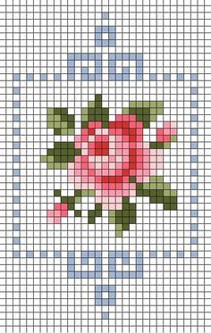 Discover recipes, home ideas, style inspiration and other ideas to try. Tiny Cross Stitch, Cross Stitch Bookmarks, Cross Stitch Cards, Simple Cross Stitch, Cross Stitch Flowers, Cross Stitch Designs, Cross Stitching, Cross Stitch Embroidery, Embroidery Patterns