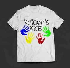 Check out the Kaiden's Kids shirts @ https://www.facebook.com/MobiusApparel/app_251458316228.  100% of profit goes to Kaiden's Kids!