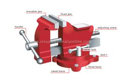 parts of vise