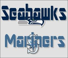 The two Seattle teams I watch! Football first, Baseball second...  I want all Seattle teams to win, I just don't watch them all.