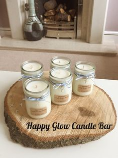 Baptism Favour Vegan Candle Glass Jar Keepsake Personalised | Etsy