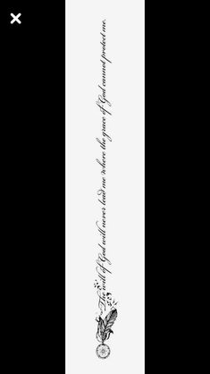 spine tattoos for women quotes Mini Tattoos, Girly Tattoos, Body Art Tattoos, Small Tattoos, Sleeve Tattoos, Cool Tattoos, Tatoos, Back Tattoo Women Spine, Tattoos For Women On Thigh