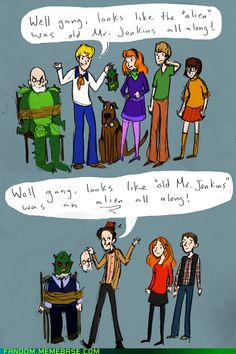 Dr. Who and Scooby Doo