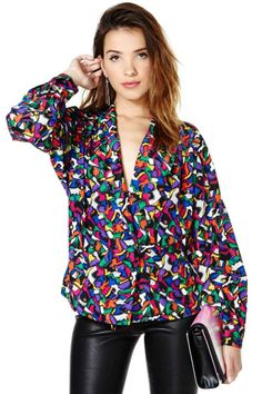 Painting Party Blouse