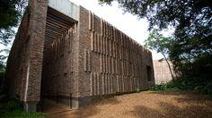Galeria Claudia Andujar, no Inhotim, em Brumadinho, Minas Gerais.