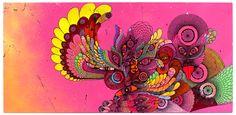 festis remix roadsign | Illustration Carolina Falkholt | for  FESTIS REMIX Carlsberg | Nine