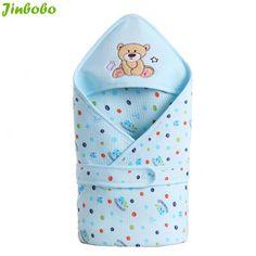 Dajinbear ganado algodón del sobre bolsa de dormir infantil del bebé para recién nacido wrap sleepsack dormir de la historieta del bebé manta swaddling