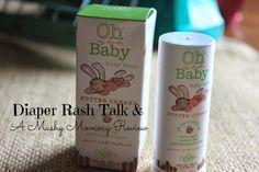 The Mushy Mommy: Diaper Rash Talk and Oh My DeVita Baby Butter Cheeks