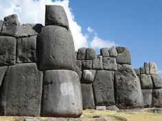 Sacsayhuaman, Peru….pronounced sexay woman. The size of those stones are beyond belief.