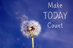 Today is going to be brilliant day! Do something that will enable and empower you to take action, get on track and get results.