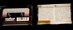 Guardians of the Galaxy Cassette tape awesome mix vol 1 RSD Black friday 10CC !!