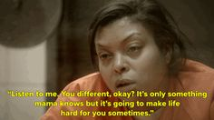 Pin for Later: 42 Times Taraji P. Henson Earned Her Emmy Nomination as Cookie Lyon When she gets real with her gay son.