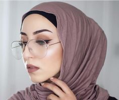 Hijab Style For Glasses