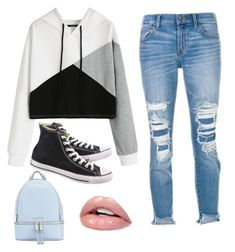 """Converse"" by ellag130 on Polyvore featuring J Brand, Converse and MICHAEL Michael Kors"