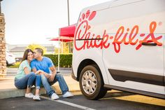 ENGAGEMENT PHOTO at Chick-fil-A by WEDDING PHOTOGRAPHER in TEMECULA, SOUTHERN CALIFORNIA Temecula California, Southern California, Engagement Session, Engagement Photos, Prom Date, First Dates, California Wedding, Ever After, Photo Ideas