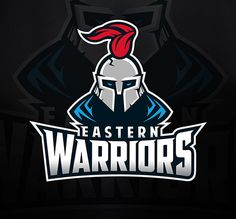 Eastern Warriors by Dmitry Krino - 60 Incredible Spartan Logo Designs for Inspiration|iBrandStudio