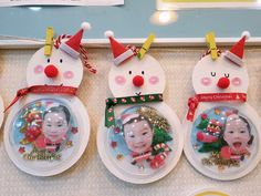 Christmas Crafts For Kids, Diy Christmas Ornaments, Christmas Time, Fun Crafts, Diy And Crafts, Arts And Crafts, Winter Art, Preschool, Nursery