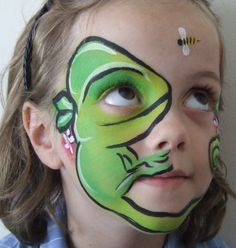 facepainting | Kids Face Painting Melbourne Body Art - Chameleon Face and Body FX