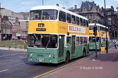 A456 by Bryan A Smith, via Flickr Double Deck, Glasgow Scotland, Coaches, Buses, Cities, Day, Modern, Trainers, Trendy Tree