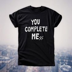 You Complete Mess Me five 5 seconds of summer luke hemmings 5sos t-shirt top unisex by Positeeve on Etsy, $15.77 [O M F G]